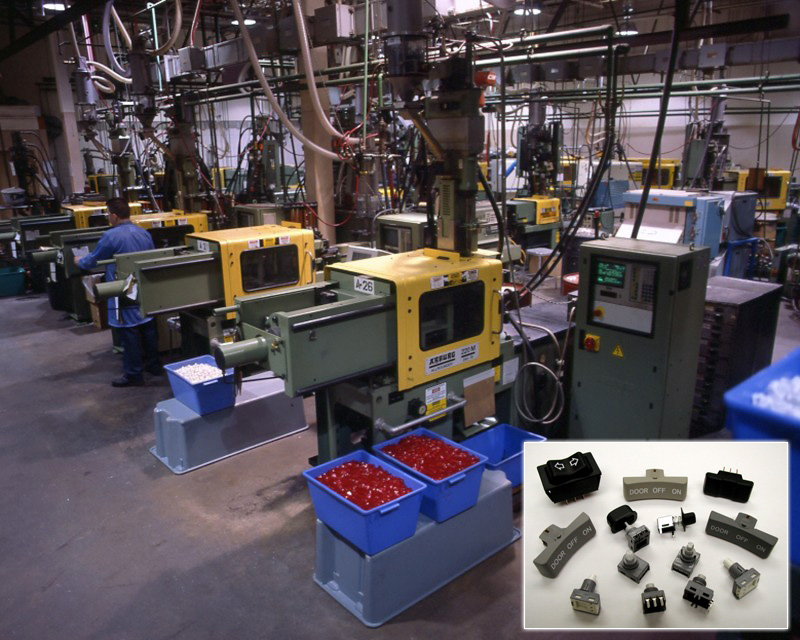 Capabilities:Design Engineering,Tooling,Injection and Insert Molding
