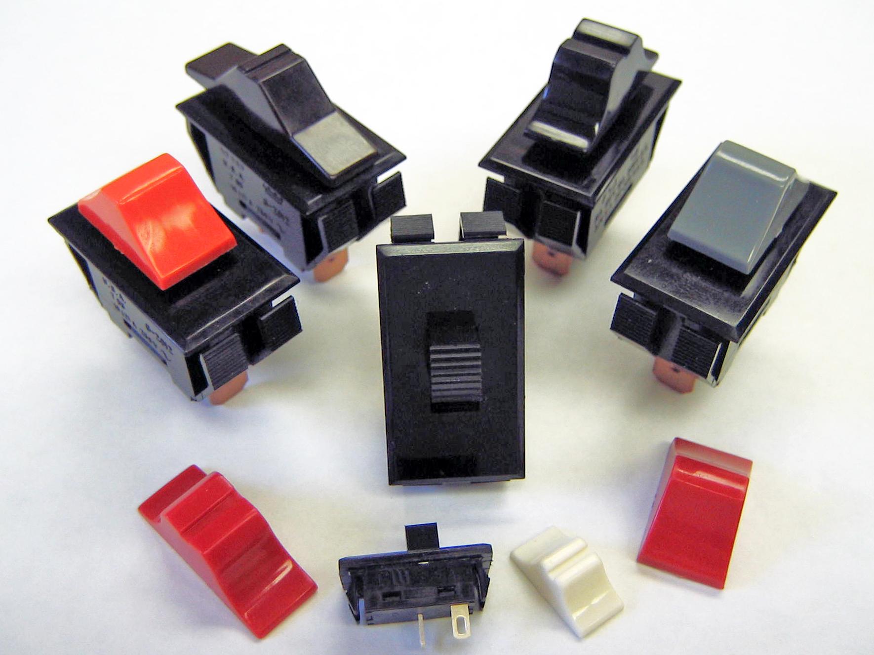 CW power slide switch